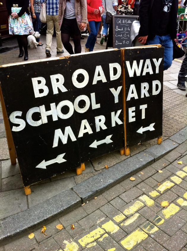 Broadway Market, East London