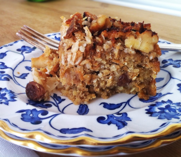 Ugly Duckling Carrot and Oatmeal Cake
