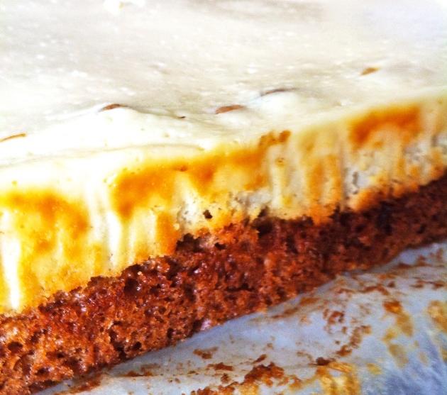 Carrot & Apple Cake Cheesecake  | Selma's Table